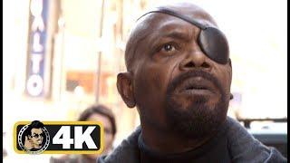 Video AVENGERS: INFINITY WAR Movie Clip - Captain Marvel End Credits Scene (4K ULTRA HD) MP3, 3GP, MP4, WEBM, AVI, FLV Mei 2019