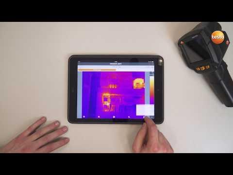 Техническое обслуживание электрических систем с тепловизорами Testo