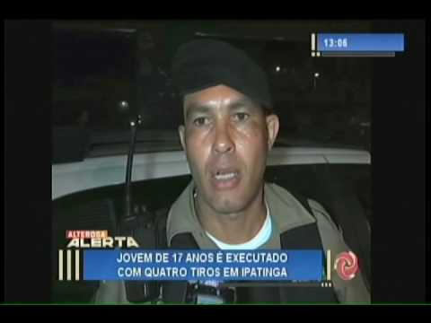 Jovem é executado com quatro tiros em Ipatinga