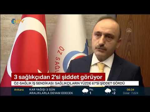 SAĞLIKTA ve SOSYAL HİZMETTE ŞİDDET ARAŞTIRMASI HABERİMİZ NTV'DE