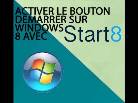 comment afficher le bouton demarrer dans windows 8