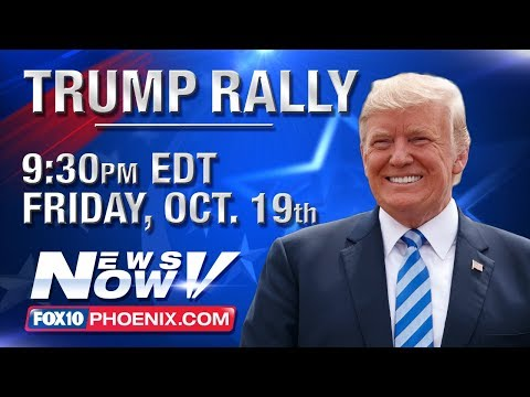 FULL MAGA RALLY: President Trump Campaigns For Martha McSally In Mesa, Ariz. (FNN)