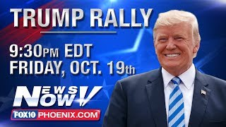 FULL MAGA RALLY: President Trump Campaigns for Martha McSally in Mesa, Ariz. (FNN)