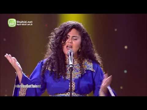 عبير العابد تغني من التراث المغاربي في ختام Arabs Got Talent