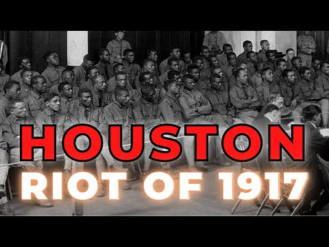 Houston Riot of 1917 - The mutiny and riot of the 24th Infantry #OneMichistory