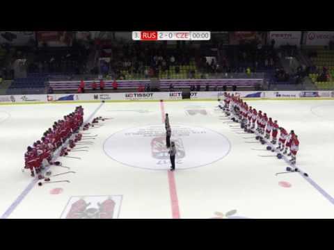 РОССИЯ ЧЕХИЯ 2:0 Российские хоккеистки заставили смолкнуть трибуны, освиставшие гимн России