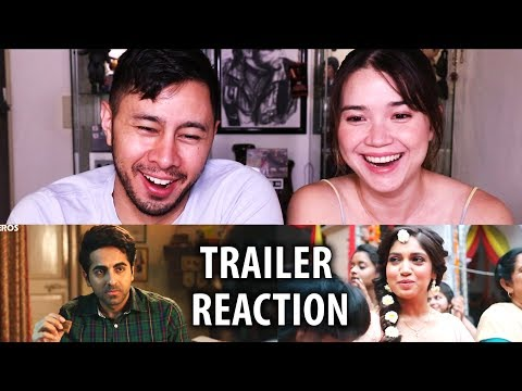 Download SHUBH MANGAL SAAVDHAN | Ayushmann Khurrana | Bhumi Pednekar | Trailer Reaction! HD Mp4 3GP Video and MP3