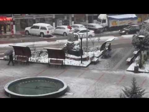 08 Ocak 2015 Pazar'da kar yağışı