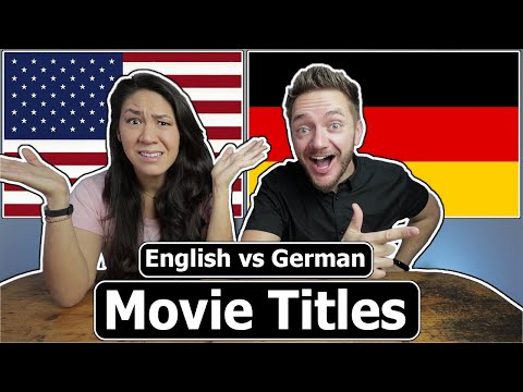 Funny German Movie Titles!! (English vs German Comparison)