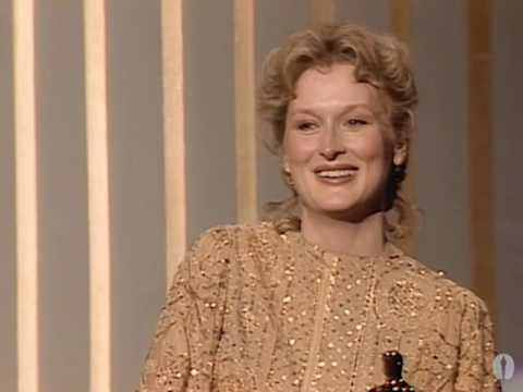 Meryl Streep Wins Best Actress: 1983 Oscars