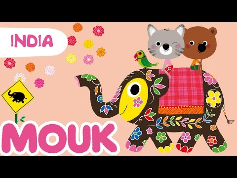 Mouk discovers India – 30 minutes compilation HD | Cartoon for kids