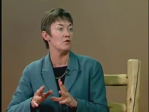 woman speaking in an interview about the economy in 2016