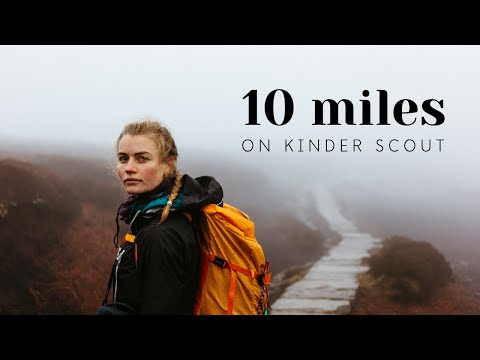 Hiking 10 Miles on Kinder Scout