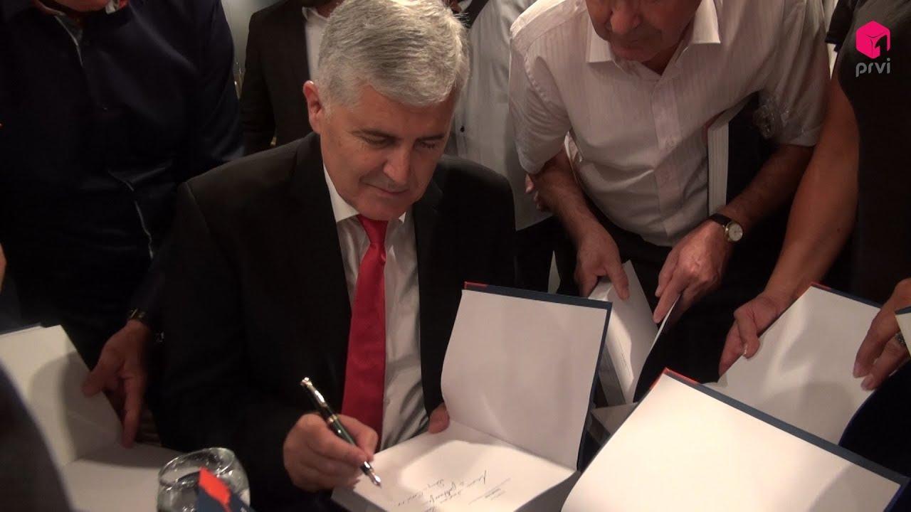 dr. Čović predstavio knjigu: 'Iznad crte - moja vizija europske BiH'