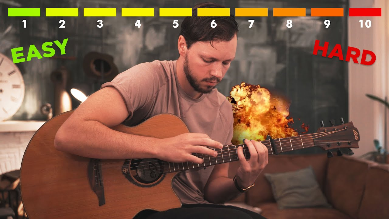 THE 10 LEVELS OF ACOUSTIC GUITAR