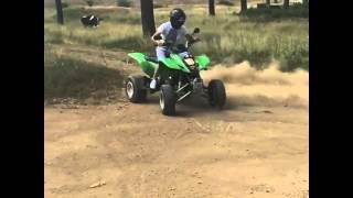 9. Kawasaki crazzy 400cc atv