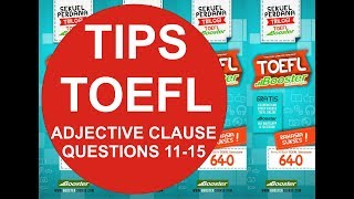 Adjective Clauses (Q11-Q15)