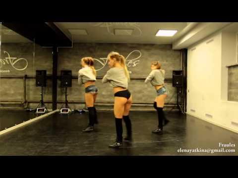 NEW twerk choreo by DHQ Fraules   Travis Porter  Bring it back (видео)