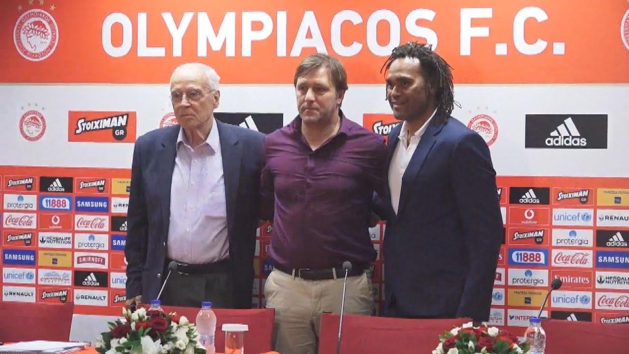 Παρουσίαση του νέου προπονητή του Ολυμπιακού Πέδρο Μαρτίνς