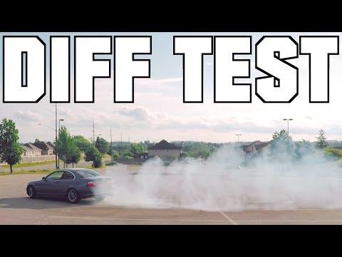 BMW E46 Diff Test