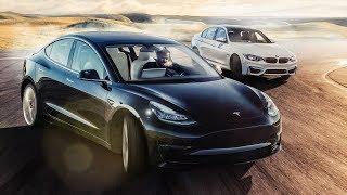 Video TESLA Model 3 vs BMW M3 Track Battle | Top Gear MP3, 3GP, MP4, WEBM, AVI, FLV Juni 2019