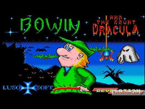 Bowin And The Count Dracula - Sam Coupe gameplay