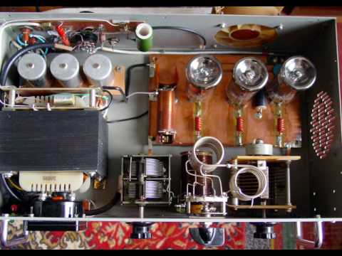 Vacuum tube or HF linear amplifier