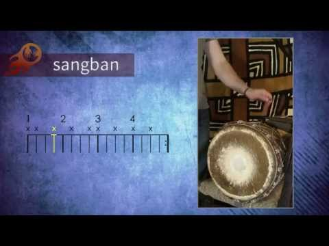 Free African drumming lesson // Didadi dununs (slow tempo) by Tasumakan Djembe