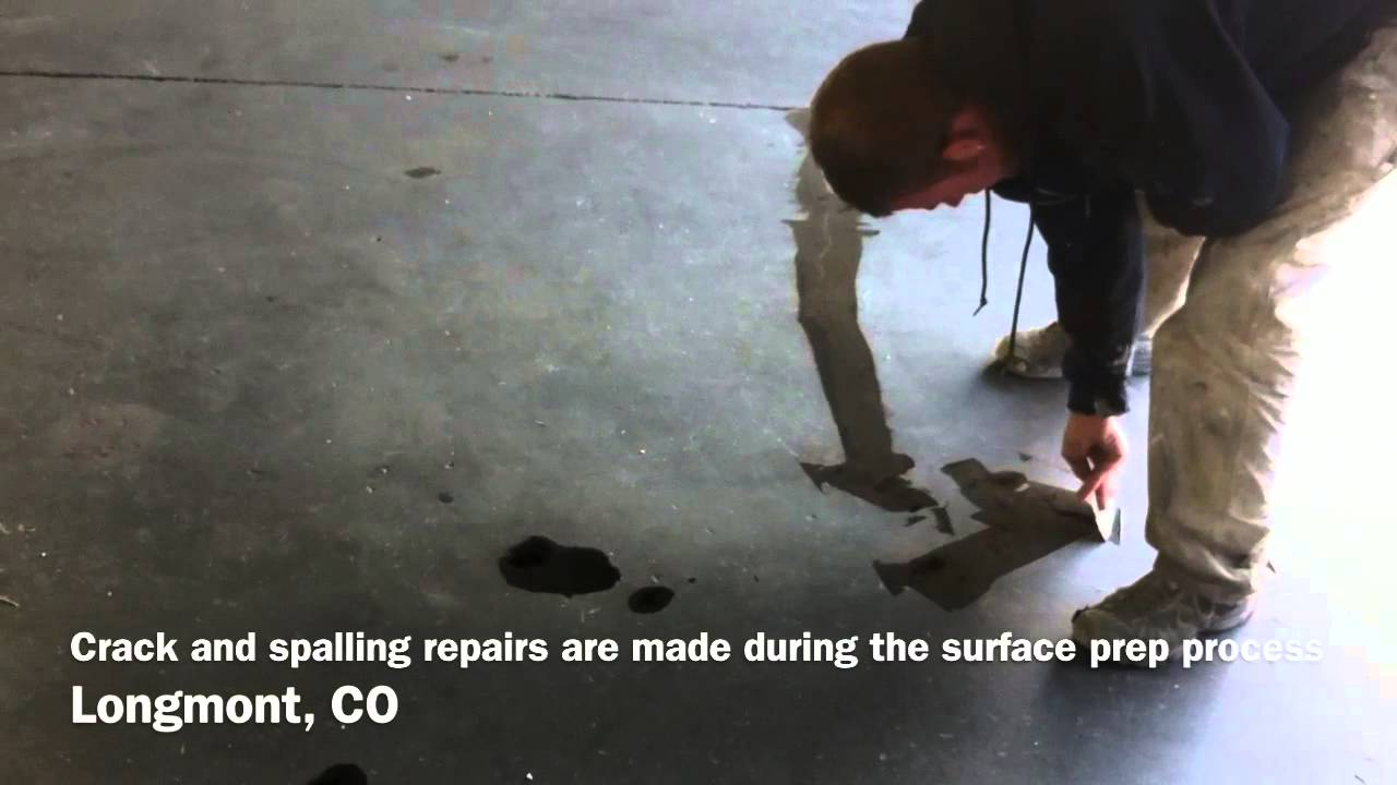 Surface Preparation for Concrete