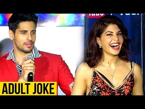 Sidharth Malhotra's DIRTY Joke On Jacqueline Ferna