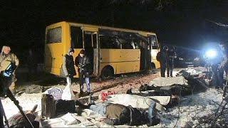 Roket saldırısında ölen 12 Ukraynalı için yas ilan edildi