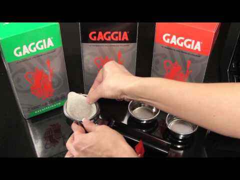 Gaggia Expert Tip: How to use Gaggia Espresso Machines Filter Baskets