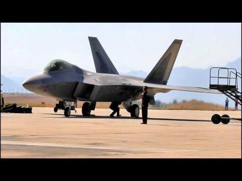 F-22 Raptor Preparing for flight
