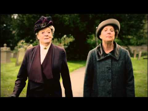 Downton Abbey 5.01 (Clip 'I Was Referring to Companionship')