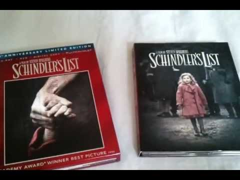 Schindler's List (1993) - 20th Anniversary Limited Edition Blu Ray Review And Unboxing