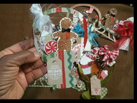 Holiday Tags 2017- More Gingerbread Creations