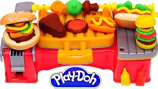 Video Play Doh Cookout Creations New Playdough Grill Makes Play-Doh Hotdogs Hamburgers Kabobs MP3, 3GP, MP4, WEBM, AVI, FLV April 2017
