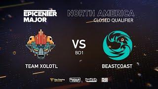 Team Xolotl vs beastcoast, EPICENTER Major 2019 NA Closed Quals , bo1 [Maelstorm & Lost]