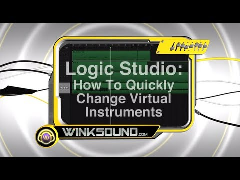 Logic Pro: How To Quickly Change Virtual Instruments | WinkSound