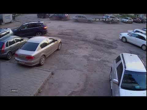 Ищу свидетелей  ДТП, Челябинск 07.08.2019 (Запись видеорегистратора)