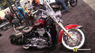 7. 2015 Triumph Thunderbird LT - Walkaround - 2014 New York Motorcycle Show