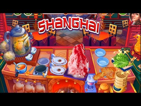 Cooking Craze/Shanghai/ Shaved Ice Collection/ Levels 81💥,84,86💥,87💥