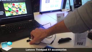 Lenovo Thinkpad X1 accessories WiGig dock, Sleeve, in ear headphones, Wireless Touch Mouse