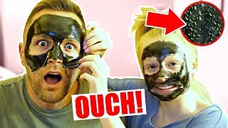 Video DO NOT TRY CHARCOAL FACE PEELS!! 😱 **dad screamed** MP3, 3GP, MP4, WEBM, AVI, FLV September 2018