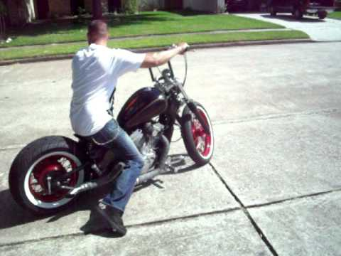 Sick honda vlx 600 bobber ride away. Time: 0:24