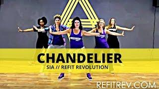 """Chandelier"" || Sia || Dance Fitness || REFIT® Revolution"