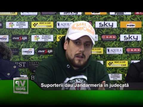 Suporterii dau Jandarmeria în judecată