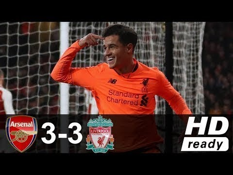 ARSENAL vs LIVERPOOL 3-3 All Goals & Highlights 23 Desember 2017 HD