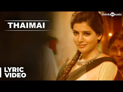 Thaimai Song with Lyrics - Theri tamil movie
