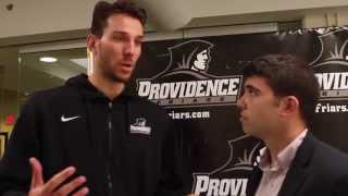 Craig Belhumeur with Carson Desrosiers – PC Media Day 2014
